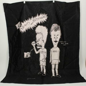 Vintage 1993 Beavis & Butt-Head Wall Hanging